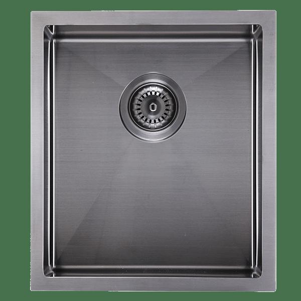 Cr340b Abey Piazza Square Bowl Black Pearl Kitchen Abey Sinks In 2019 Sink Bowl Sink Pearls