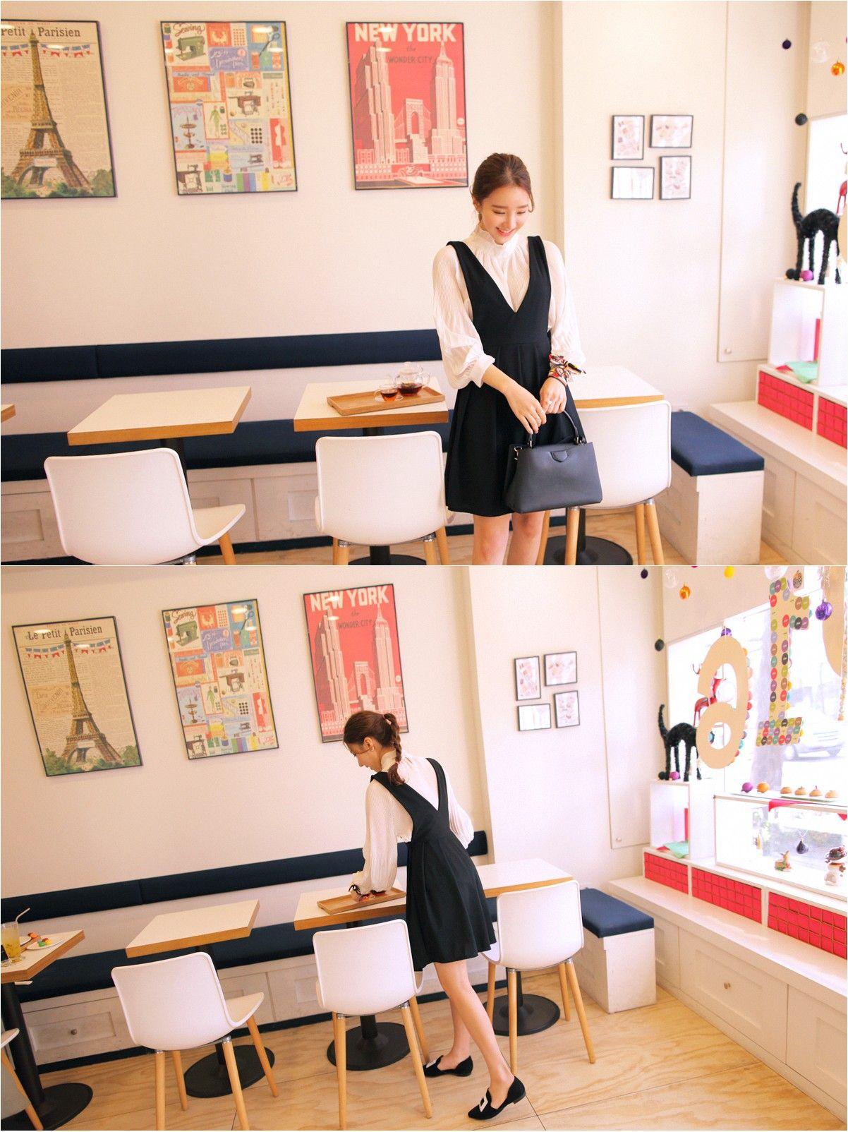 Innocent Girl Blouse | Korean Fashion