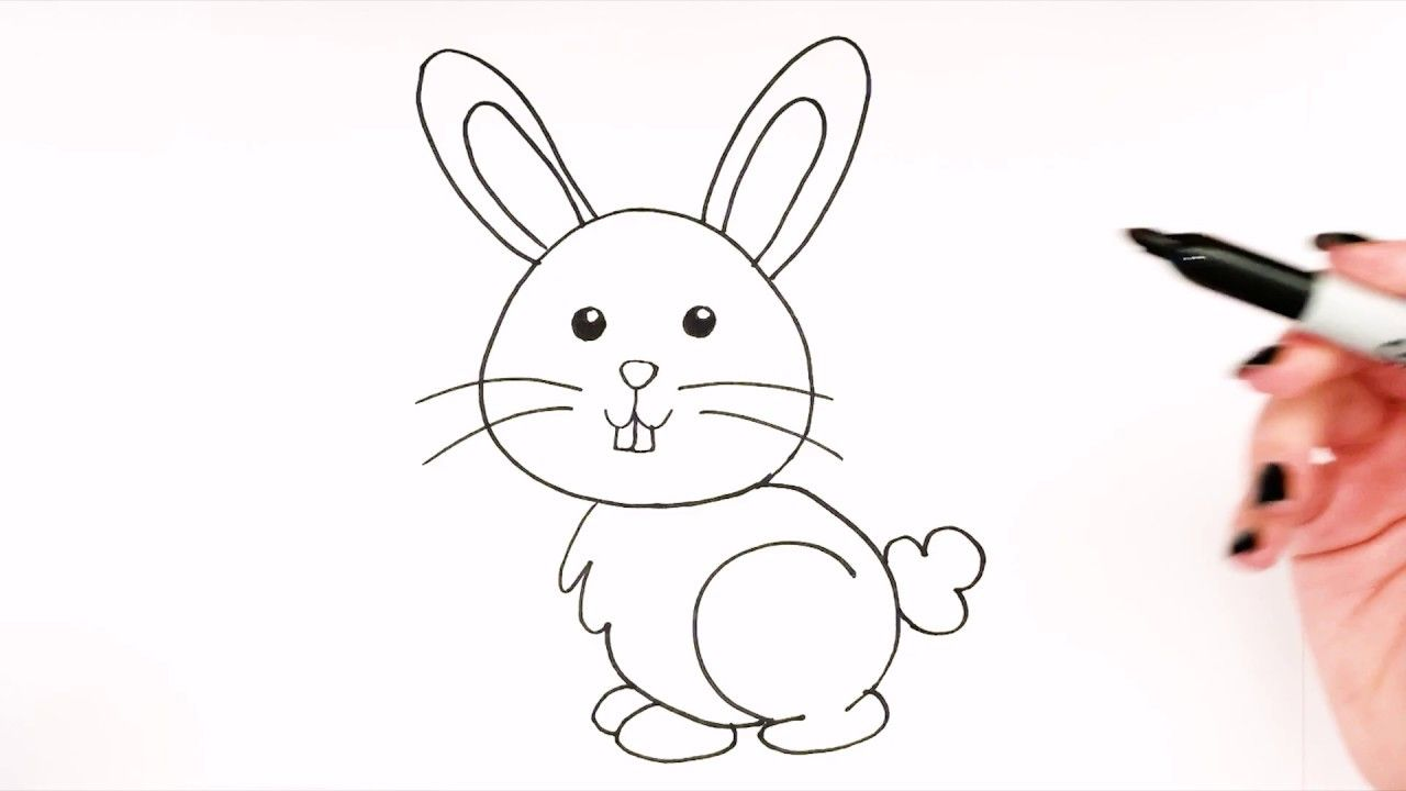 - How To Draw A Bunny 🐇|Bunny Drawing SIMPLE|Super Easy Drawings