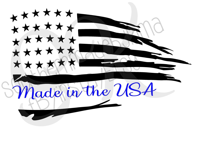 Rugged American Flag Made In America Digital Download Etsy American Flag American Made In America