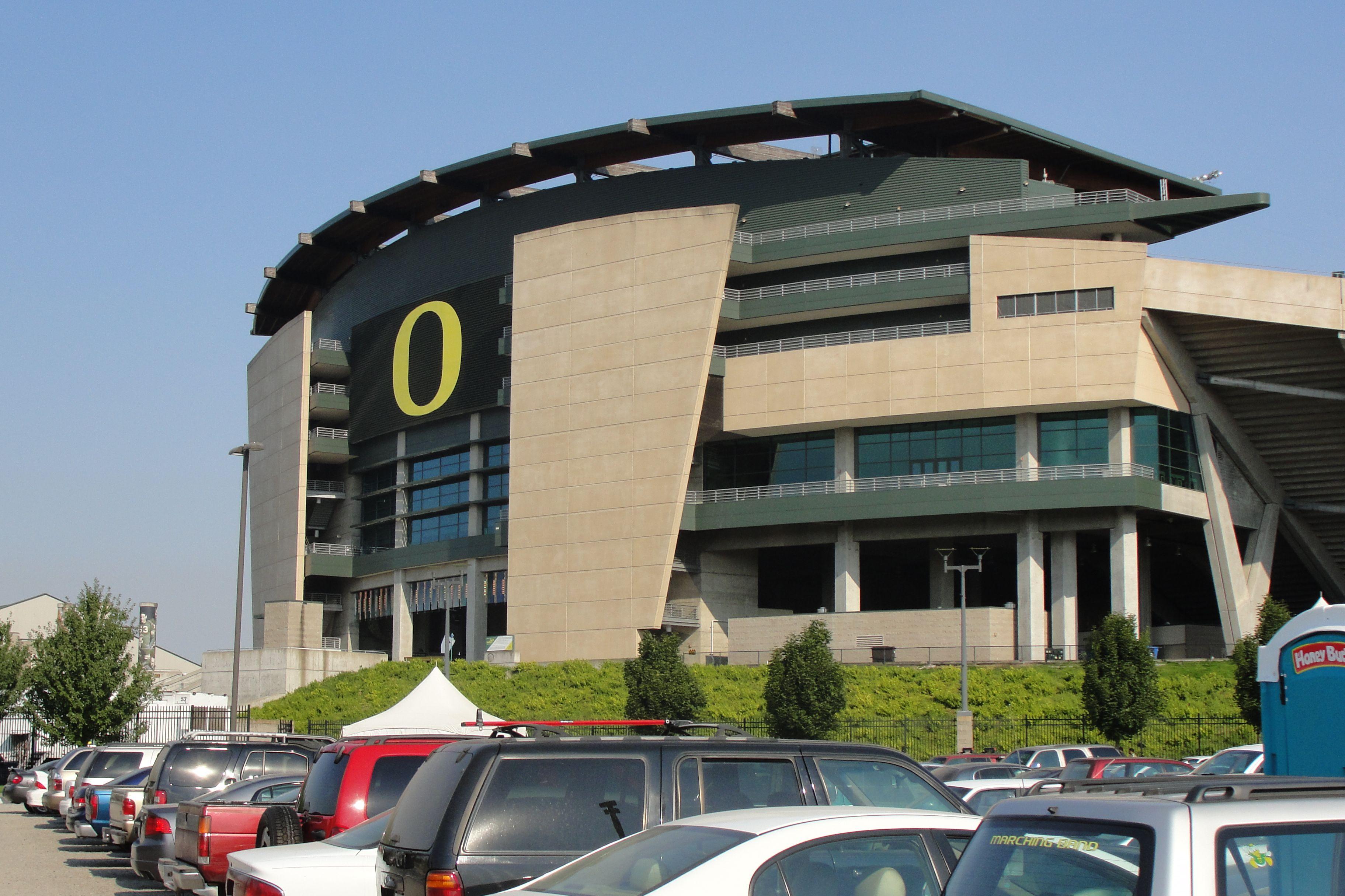 Autzen Stadium University of Oregon Oregon vacation