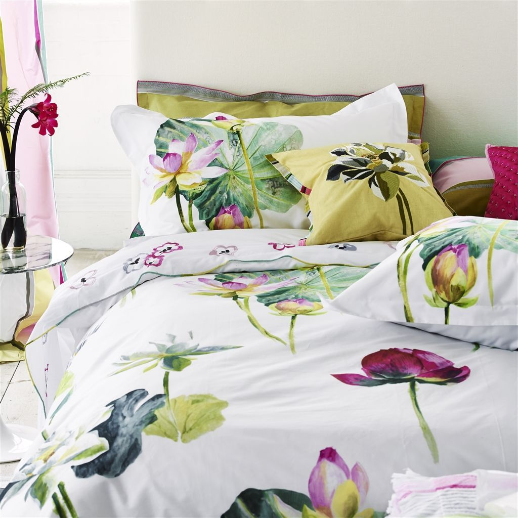 Nymphaea Peony Bed Linen | Designers Guild | Anna-Maria | Pinterest ...