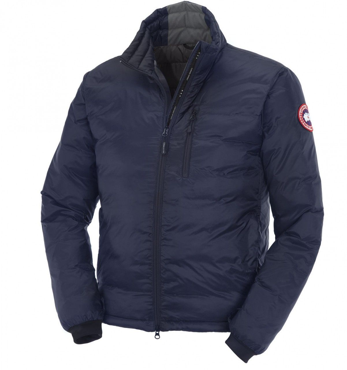 Canada goose mens lodge down jacket shown in spirit