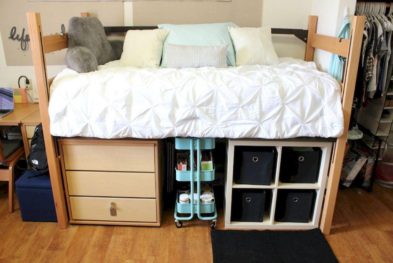 60 Smart DIY Dorm Room Storage Design Ideas | Pinterest ...
