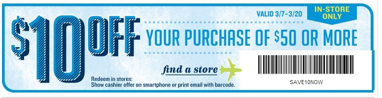 Save 10 Dollars In Store At Old Navy Hurry Offer Expires 3 20 13 Click The Coupon And Print It Now Coupon Apps Old Navy Coupon Old Navy