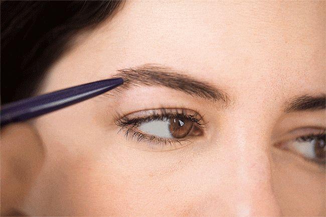 Wie man Augenbrauen formt   Wo man Augenbrauen wachsen