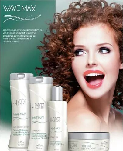H -  Expert -  Linha de tratamento para cabelos cacheados
