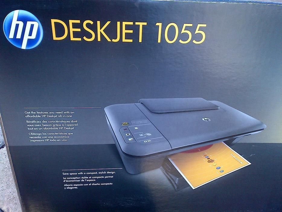 Printers 1245 New Hp Deskjet 1055 All In One Printer Print Scan Copy No Ink But Free Shipping Buy It Now Only 29 99 On Inkjet Printer All In One Printer