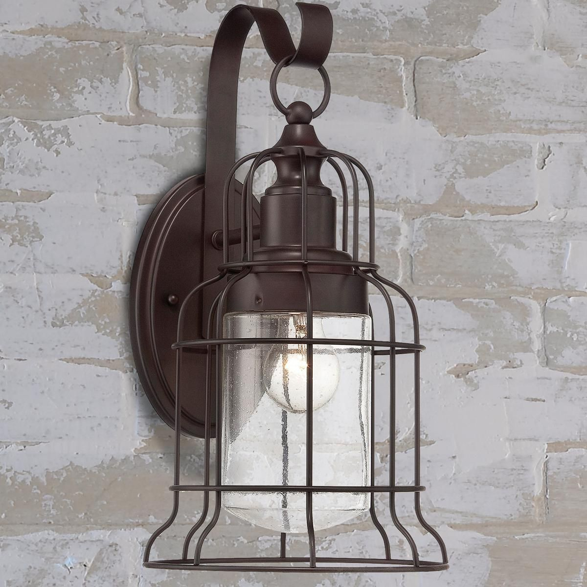Industrial Oceanside Wall Sconce Large An Adaptation To The