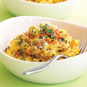 Caramelized Carrot Risotto | One of my all-time favorite warm weather dinners. Just pair with a steamed artichoke or fresh asparagus salad. Mmmmmmm.