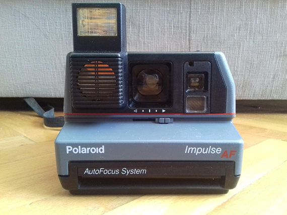 Polaroid Camera Urban Outfitters Uk : Vintage polaroid impulse af instant film camera from s made in