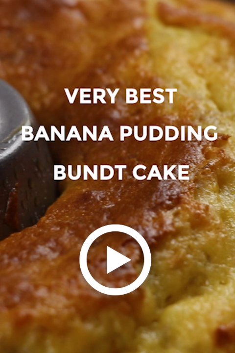 Very Best Banana Pudding Bundt Cake By Oh Sweet Basil This Easy