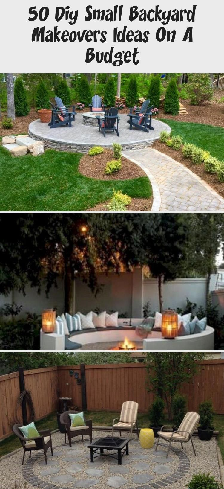50 Diy Small Backyard Makeovers Ideas On A Budget Garden Backyard Budget Diy Garden Small Backyard Backyard Makeover Backyard