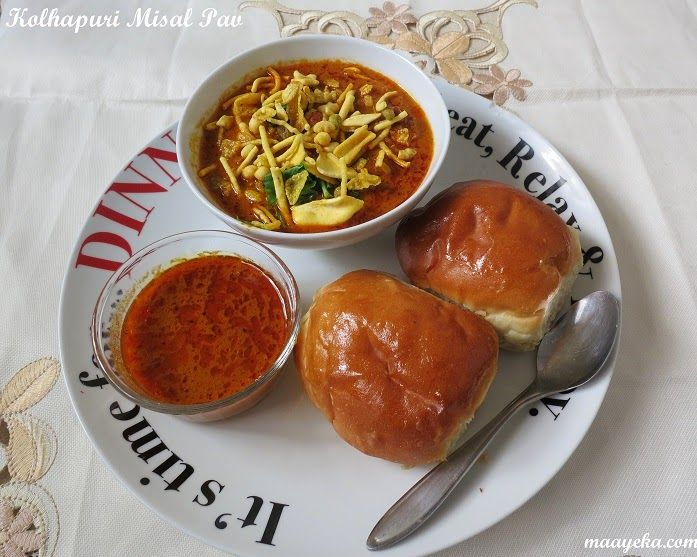 Maayeka authentic indian vegetarian recipes kolhapuri misal pav maayeka authentic indian vegetarian recipes kolhapuri misal pav spicy tomato stew with sprout forumfinder Gallery