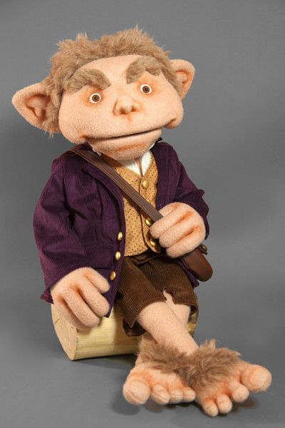 Hobbit Puppet Professional Ventriloquist Puppet Muppet Like Lord Of The Rings