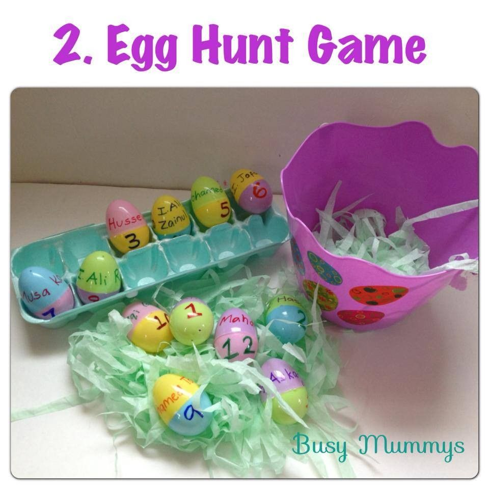 12 Imam Egg Hunt Game | Islamic Projects to Try | Easter crafts