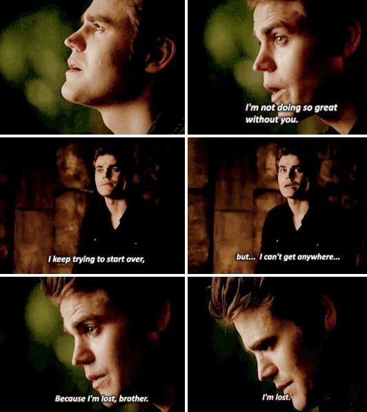 #TVD The Vampire Diaries 6x5 Stefan Salvatore(Paul Wesley), awww..