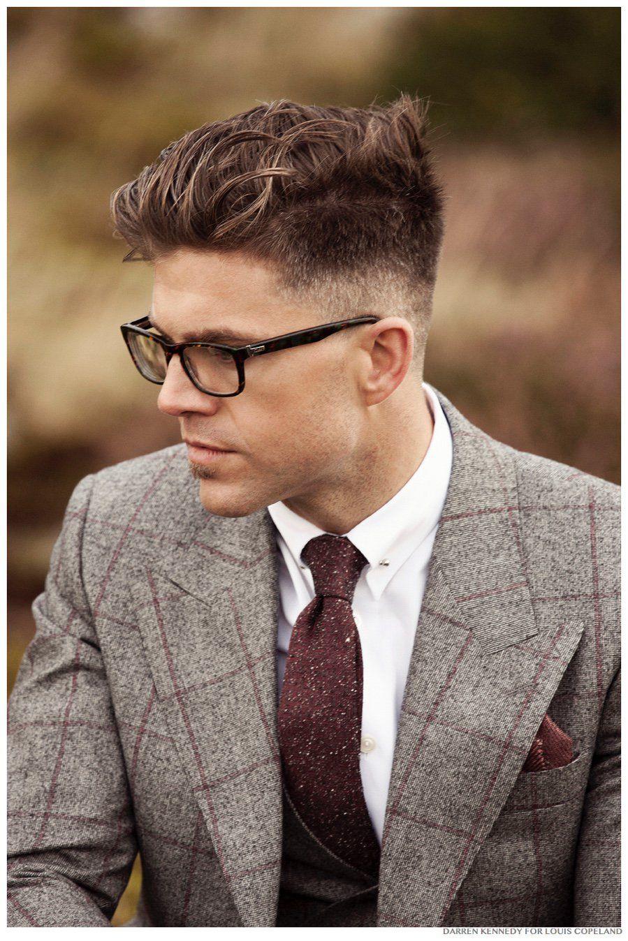 Haircut for men professional darren kennedy reunites with louis copeland for fallwinter