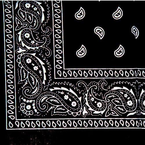Black Paisley Bandana Jpg 500 500 Pixels Paisley Tattoo Design Bandana Design Bandana Tattoo