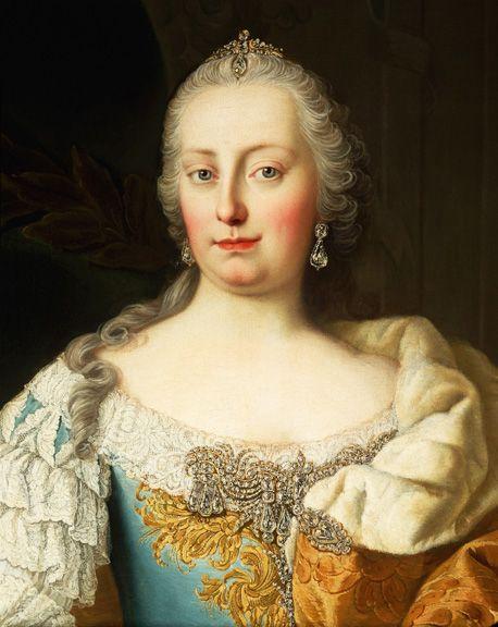 Maria Theresa and Catherine II by Elizabeth Neal on Prezi | Maria ...