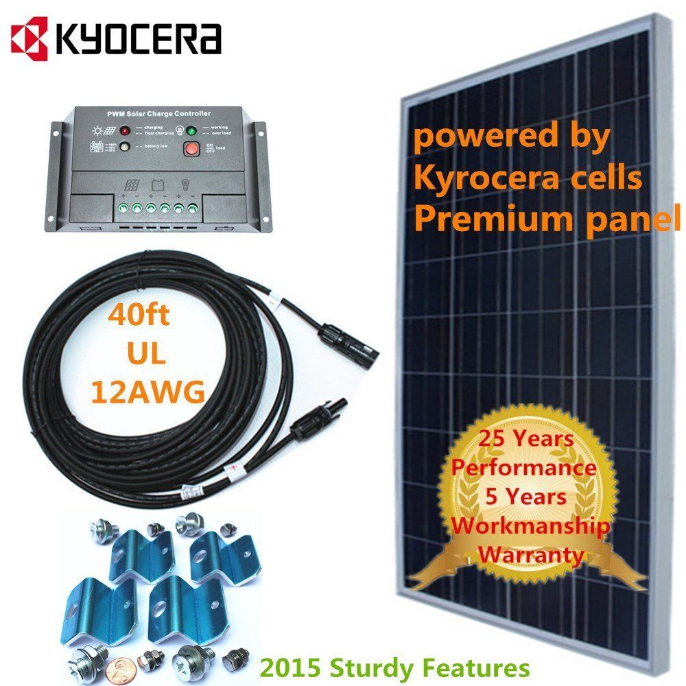 $300 Amazon com : Kyocera Solar Cell 150w 150 Watt Panel