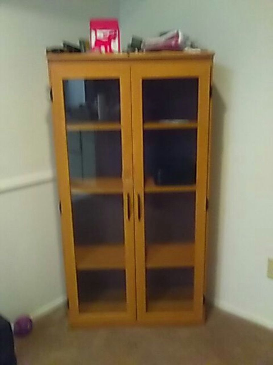 Used 4 Shelves Cabinet for sale in Houston | Cabinets for ...