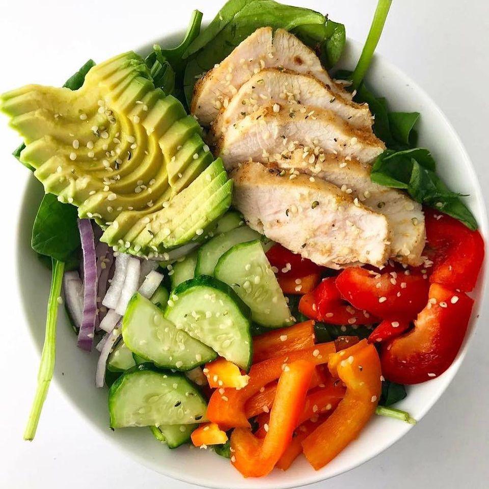 opciones saludables para almorzar