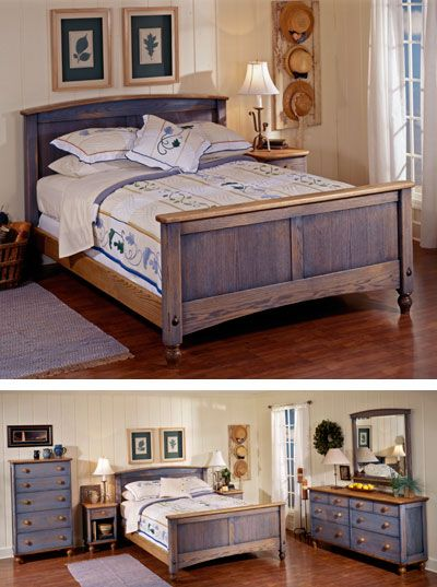 Country Fresh Solid Oak Bed Woodworking Plan From Wood Magazine Bed Woodworking Plans Furniture Solid Oak Beds