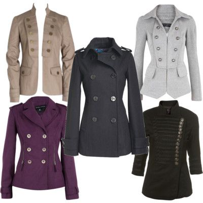 military style jackets for women - Google Search | Stylin ...
