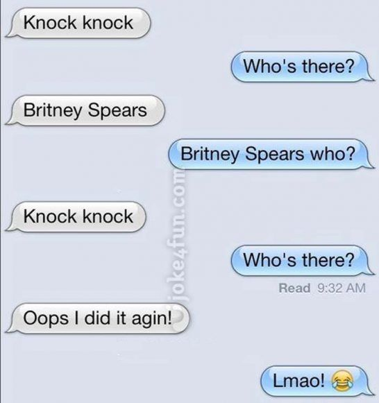 Tinder jokes knock knock Knock knock