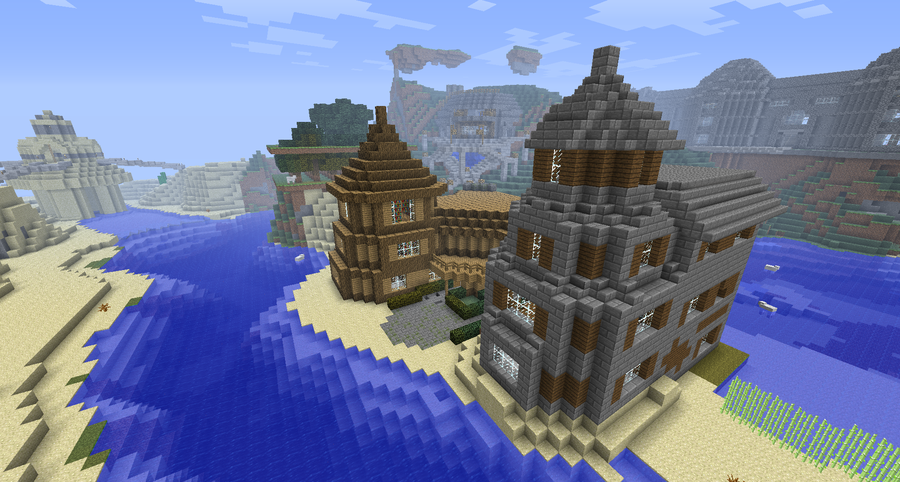 Minecraft Houses by Cosmic155 on deviantART