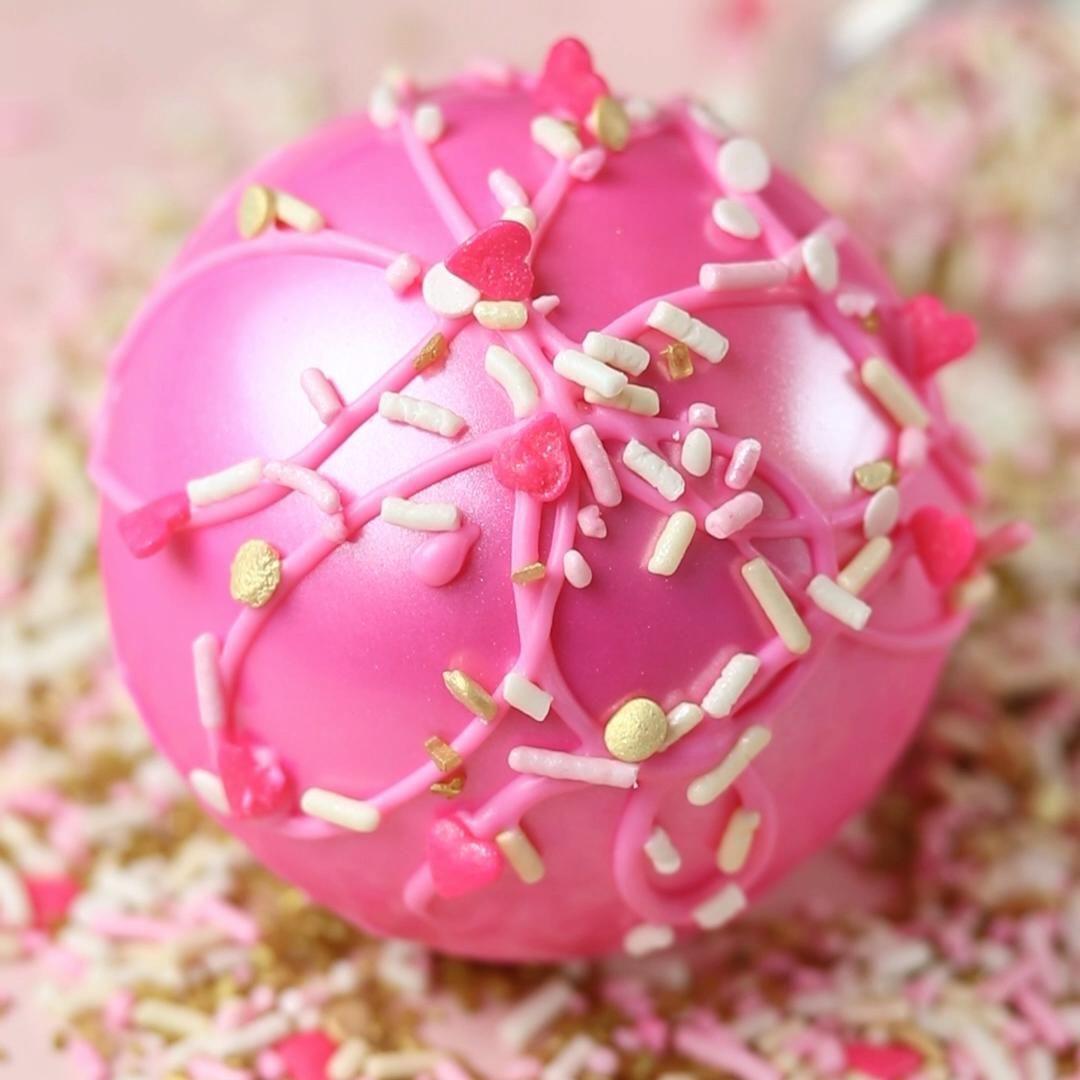 Valentine's Vanilla Latte Bomb!