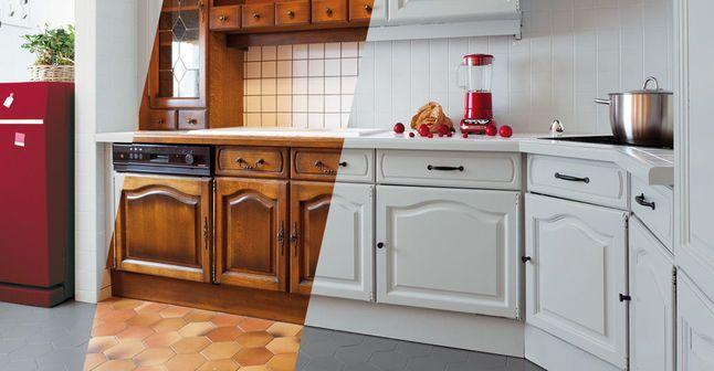 ... des meubles de cuisine nos conseils peinture. repeindre des meubles de