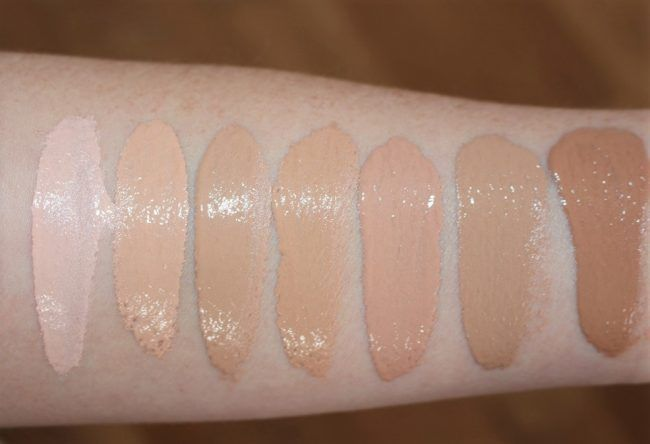 Nyx Stay Matte But Not Flat Powder Foundation Shade Finder Rimmel Wake Me Up Foundation 2017 Review Swatches New Formula Foundation Swatches Rimmel Foundation Rimmel