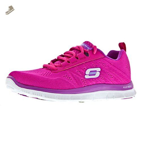 Skechers Sk11729 Flex Appeal Memory Foam Womens Trainers 7 Us