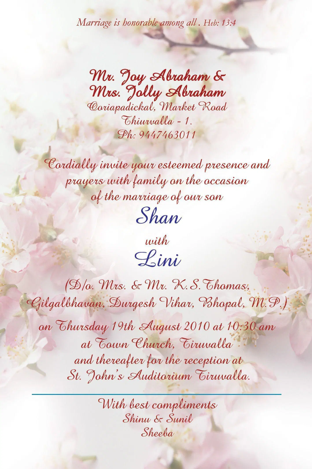 Invitation Card Other Words in 4  Invitation templates word