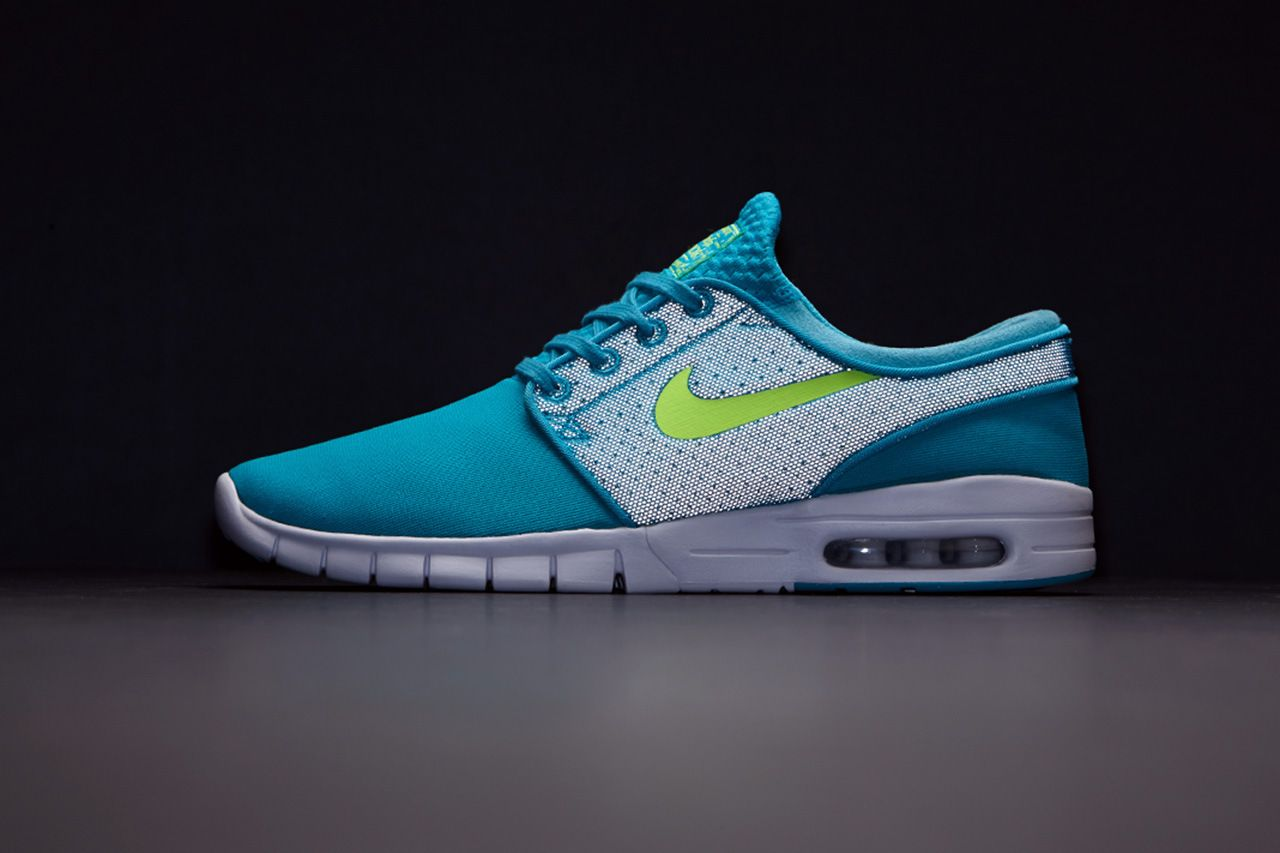PacSun Rolls Out the Nike SB Flash Pack - Stefan Janoski Max in Cyan