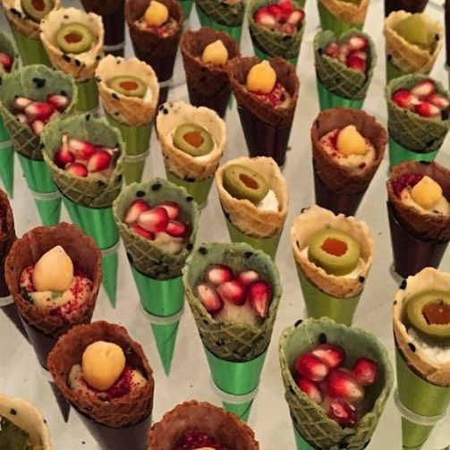 20 Likes 1 Comments مون سويت Mooon Sweet2030 On Instagram اقماع ميني كون مالح جاهزه للحش Healthy And Unhealthy Food Food Presentation Food Decoration