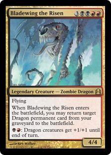 Bladewing The Risen Zombie Dragon Mtg Magic The Gathering D