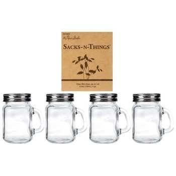 130ml Mini Glass Jars With Handles Lids Hobby Lobby Mini Glass Jars Glass Jars Jar