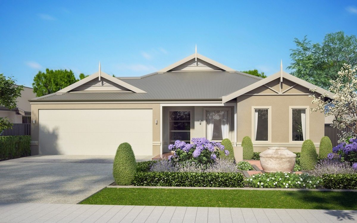 Ext Traditional S2 Banjup House Exterior Rendered