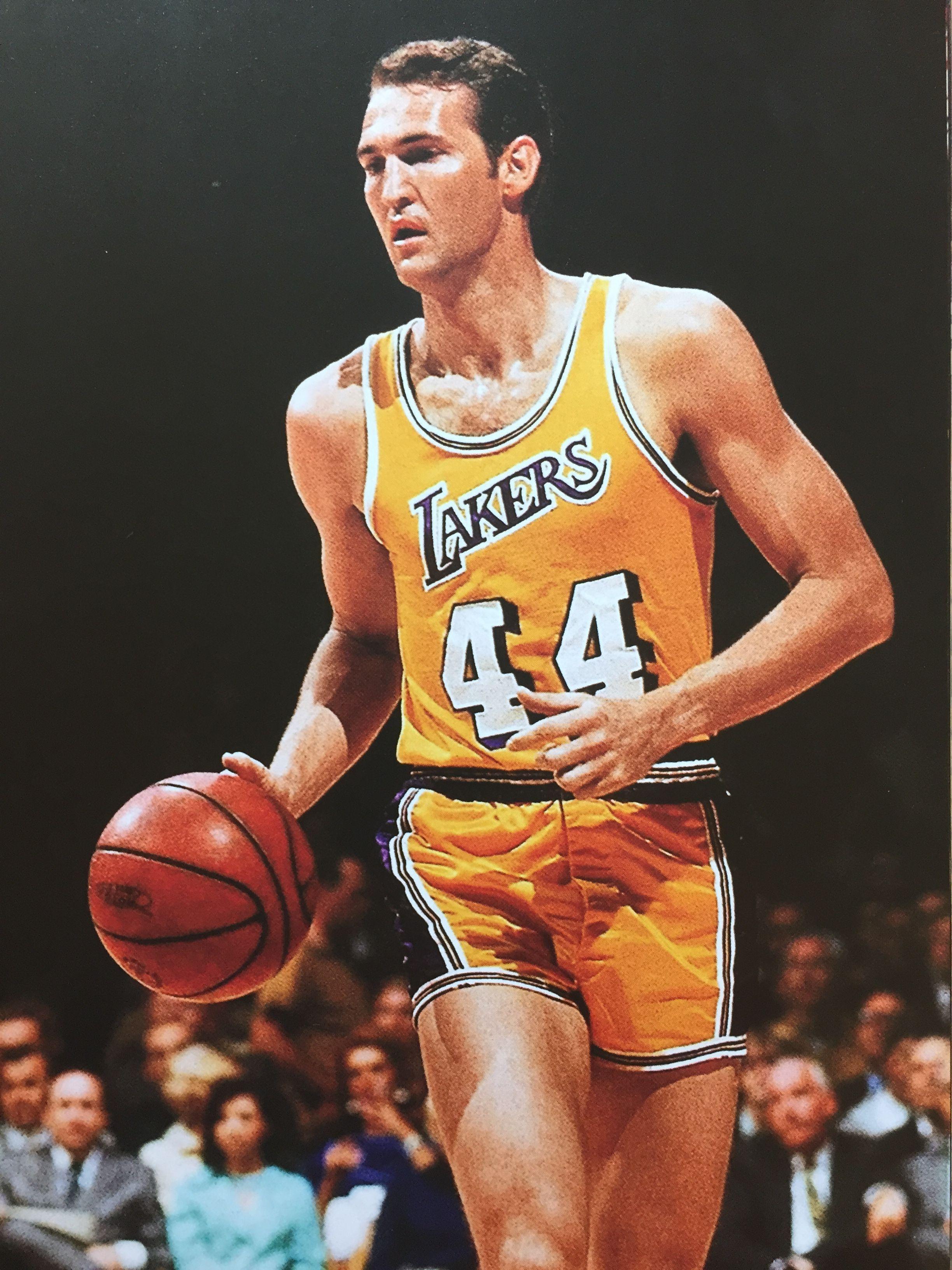 G Jerry West Nba legends, Basketball legends, Basketball