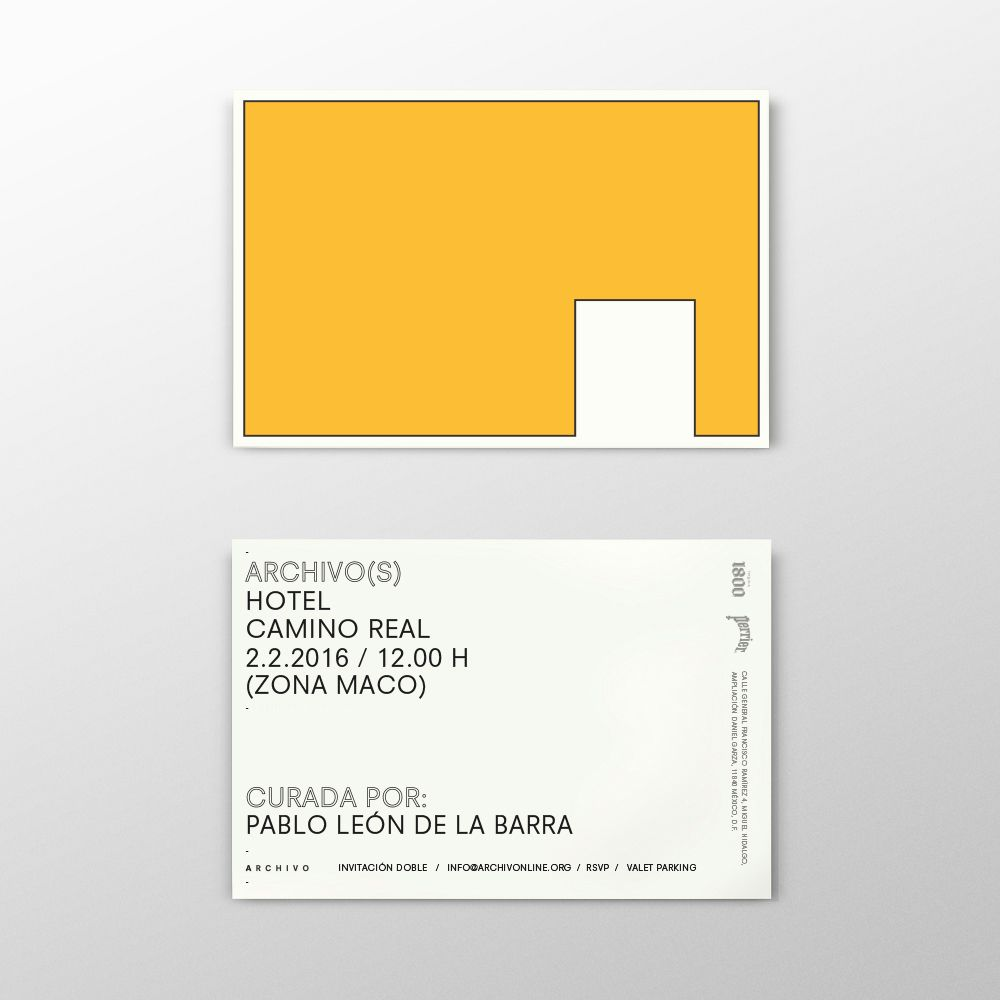 Archivo S Hotel Camino Real On Behance Name Card Design Business Card Design Card Design