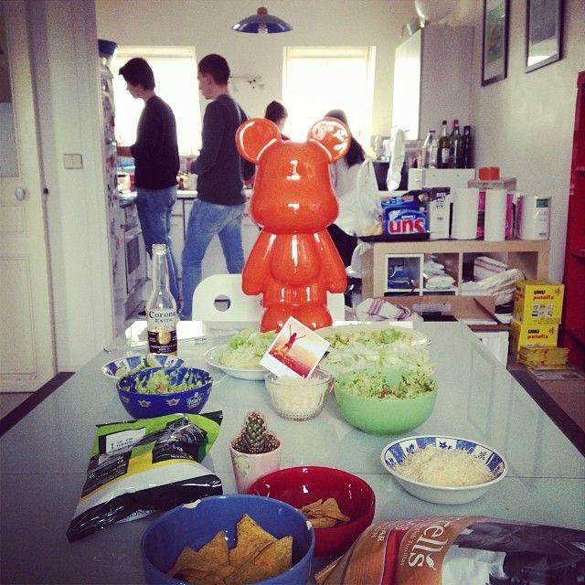 @printicapp : #burrito lunch at #printic!