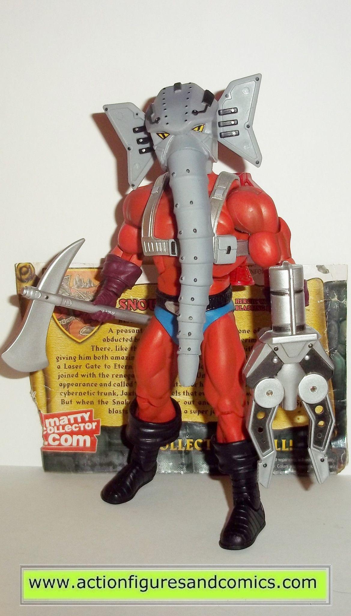 Masters Of The Universe Snout Spout Classics He Man Mattel Toys