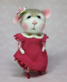 Needle Felting / Needle Felted Creations By Barby Anderson: Needle felted Bunny head By Barby Anderson (Not for sale) #feltcreations