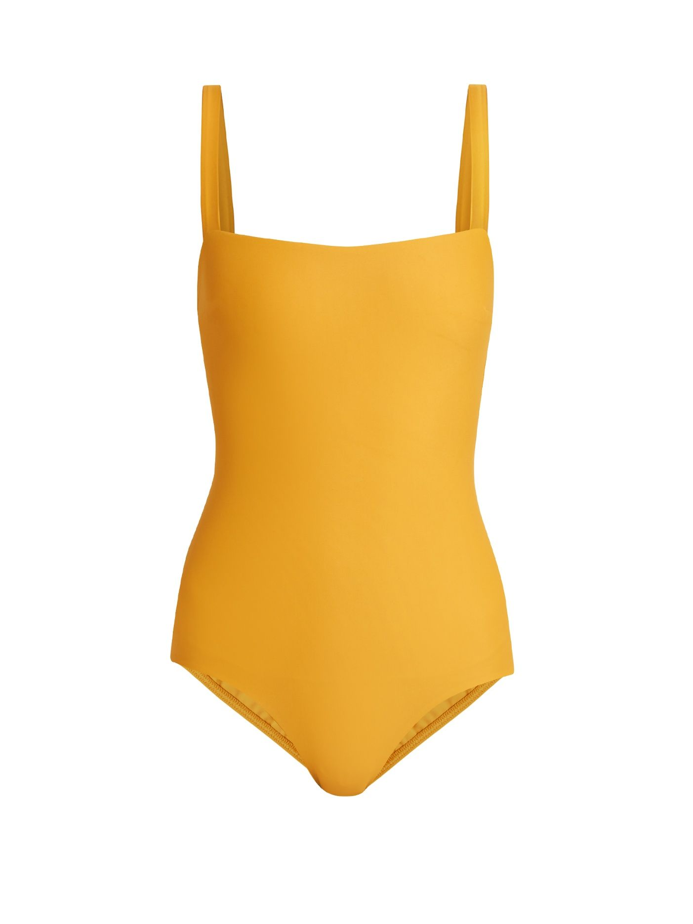 2727d05dde4e Matteau The Square swimsuit. Matteau The Square swimsuit Yellow Swimsuit  One Piece ...