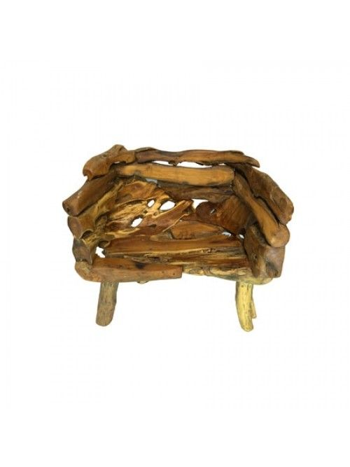 Strange Java Teak Root Wood Bench Small Teak Root Wood Furniture Caraccident5 Cool Chair Designs And Ideas Caraccident5Info