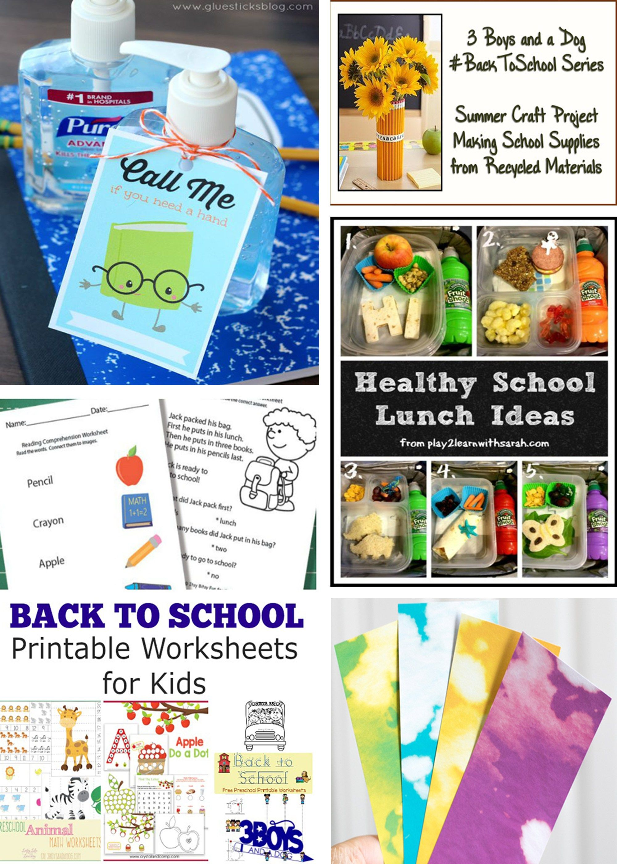 5 Back To School Ideas Funtastic Friday 138 Link Party