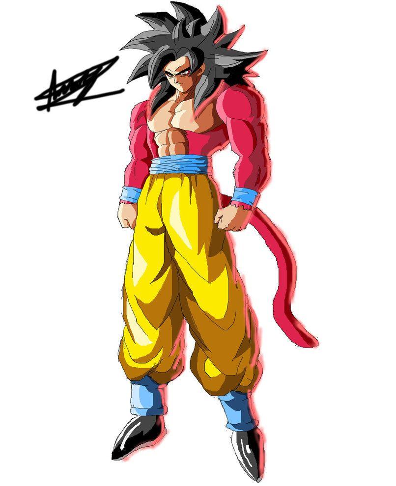 Goku Ssj4 Fighterz Style Fan Made By Black X12 Deviantart Com On Deviantart Goku Ssj4 Dragon Ball Character Art